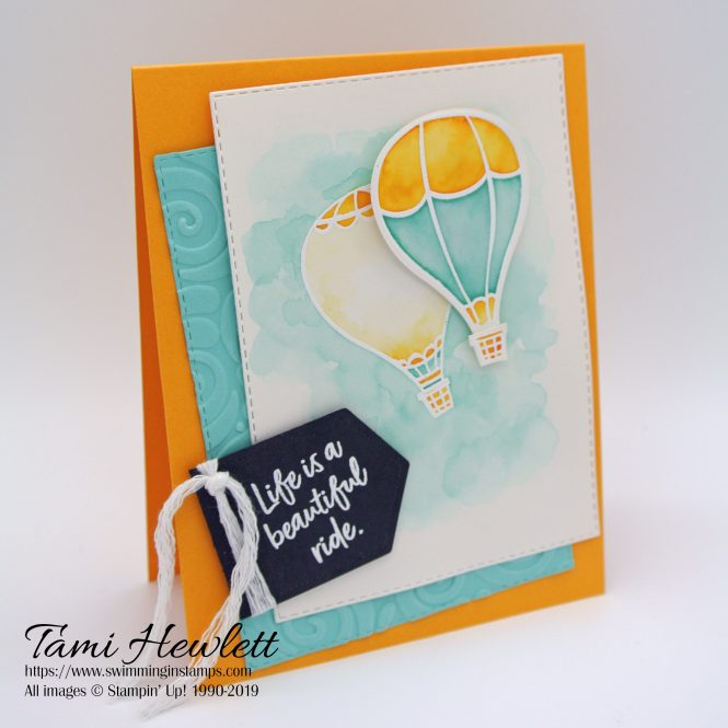 Stamping Sunday Blog Hop - Above The Clouds | Swimming In Stamps